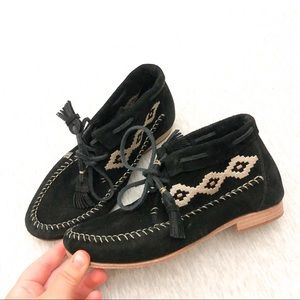 Soldous Heeled Moccasins